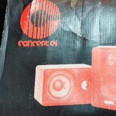 Fonógrafos y grabadoras de válvulas: ANTIGUOS ALTAVOCES HIFI AUTO STEREO SPAKER SYSTEM. Lote 267245289
