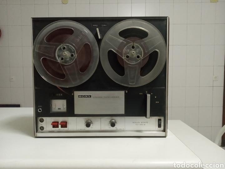 MAGNETOFONO SONY TC 252 D (Radios, Gramófonos, Grabadoras y Otros - Fonógrafos y Grabadoras de Válvulas)