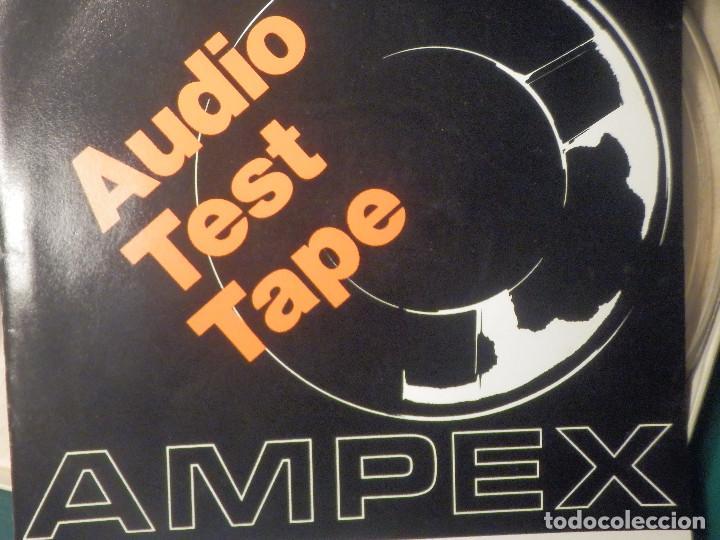 Fonógrafos y grabadoras de válvulas: Ampex Test Tape 70 micro segundos Cinta alineación Azimut Cabezal Magnetófono Reel to Bobina Abierta - Foto 5 - 269971438