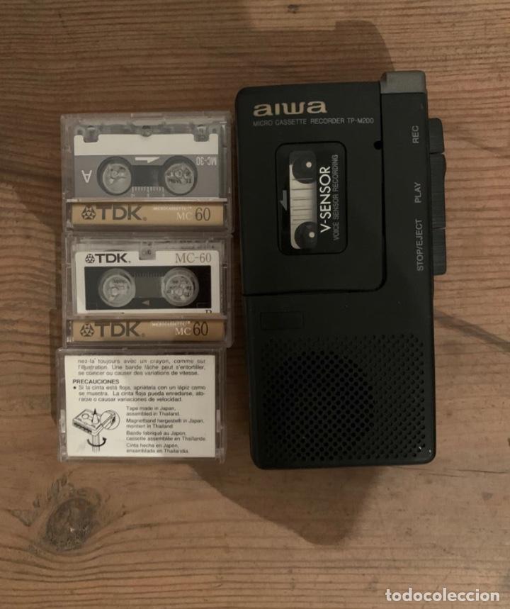 GRABADORA AIWA TP-M200 (Radios, Gramófonos, Grabadoras y Otros - Fonógrafos y Grabadoras de Válvulas)