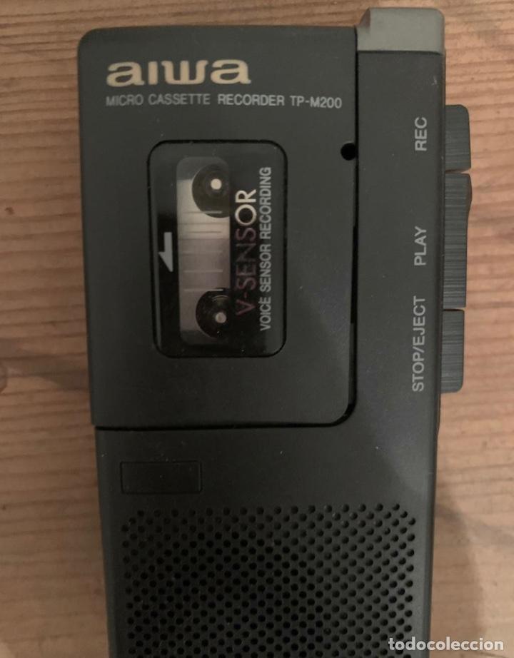Fonógrafos y grabadoras de válvulas: Grabadora Aiwa TP-M200 - Foto 2 - 270121428