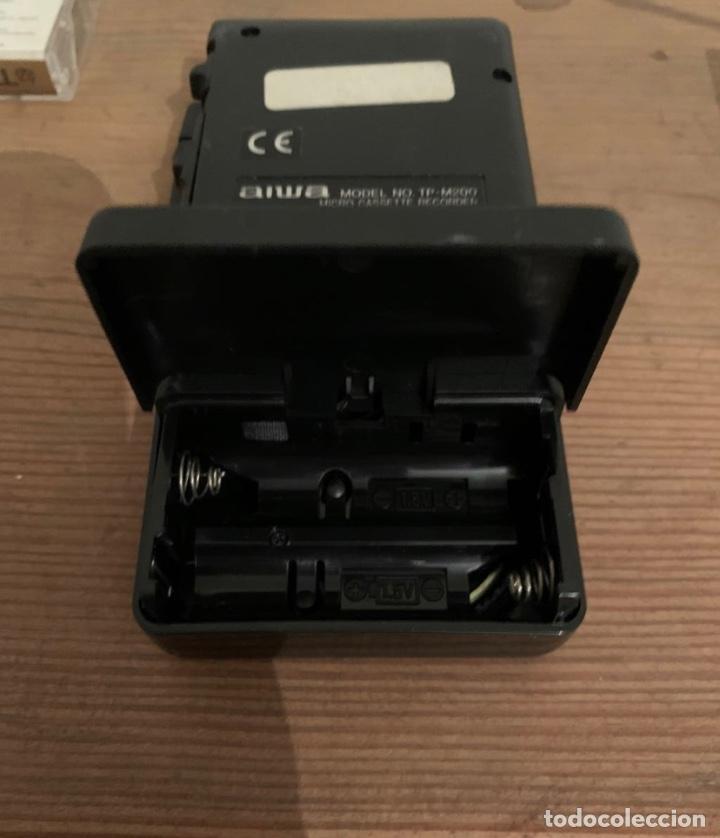 Fonógrafos y grabadoras de válvulas: Grabadora Aiwa TP-M200 - Foto 5 - 270121428
