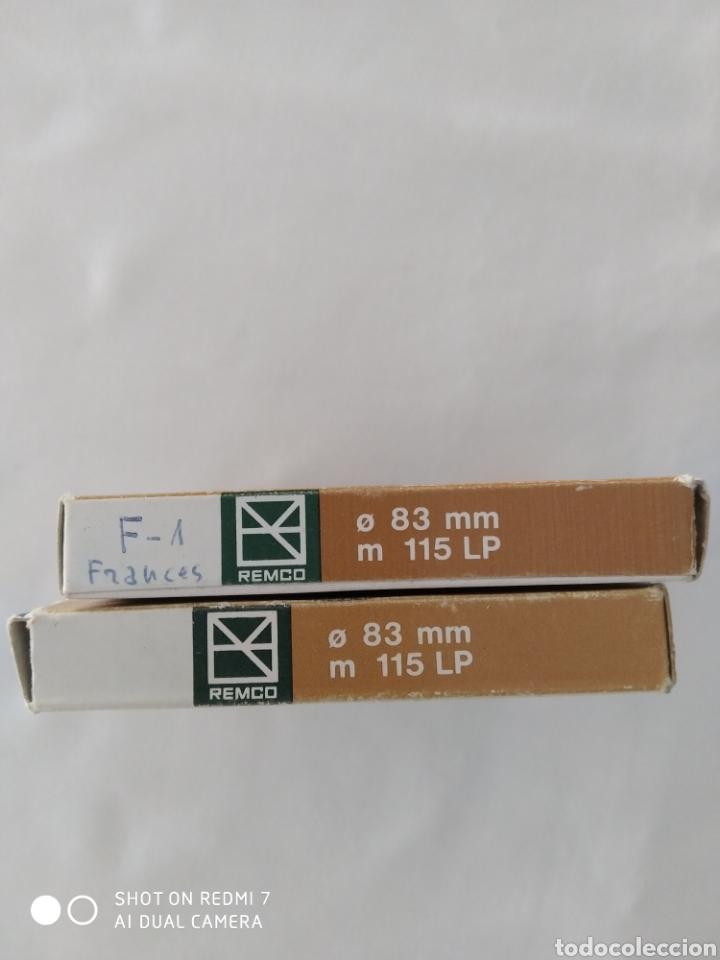 Fonógrafos y grabadoras de válvulas: Cinta Magnetofono Remco x2, usados - Foto 4 - 270519878