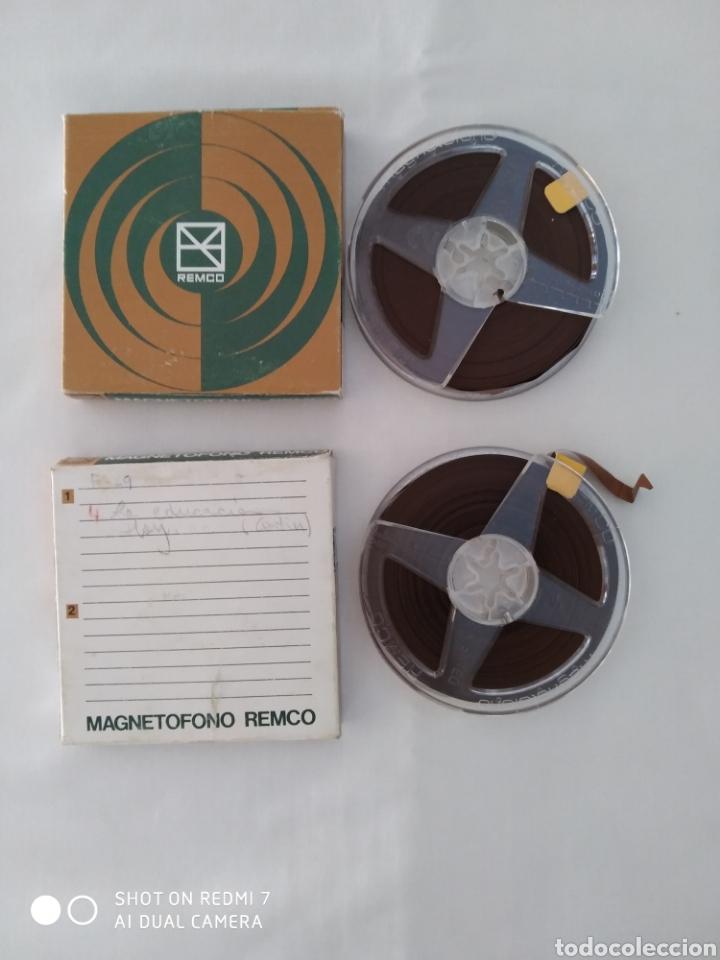 CINTA MAGNETOFONO REMCO X2, USADOS (Radios, Gramófonos, Grabadoras y Otros - Fonógrafos y Grabadoras de Válvulas)