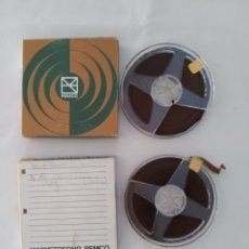 Fonógrafos y grabadoras de válvulas: CINTA MAGNETOFONO REMCO X2, USADOS. Lote 270519878