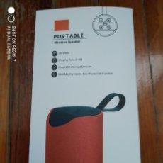 Fonógrafos y grabadoras de válvulas: PORTABLE WIRESLESS SPEAKER. Lote 276564808