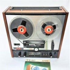 Fonógrafos y grabadoras de válvulas: TEAC A-1030 / SERIE 14395 - AÑO 1978 / 80 - GRABA BIEN, VER VÍDEOS - FABRICACIÓN TOKYO -JAPON. Lote 277181538