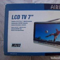 Fonógrafos y grabadoras de válvulas: TV MINI AIRIS M203 LCD 7''. Lote 277187033