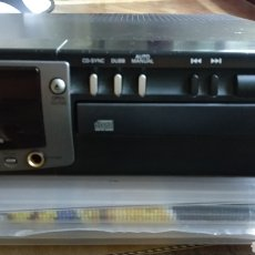 Fonógrafos y grabadoras de válvulas: GRABADORA DE CDS DE AUDIO. Lote 277224048