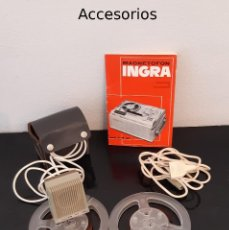 Fonógrafos y grabadoras de válvulas: MAGNETOFÓN INGRA MODELO A.M. 64 – R9. Lote 286176113