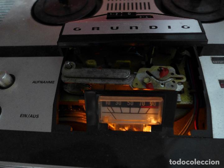 Fonógrafos y grabadoras de válvulas: MAGNETOFON GRUNDIG TK 148 - Foto 11 - 286903133