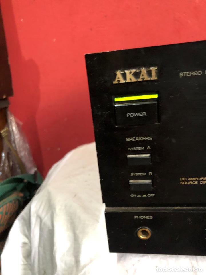 Fonógrafos y grabadoras de válvulas: AMPLIFICADOR INTEGRADO VINTAGE AKAI AM-32 - Foto 11 - 287557408