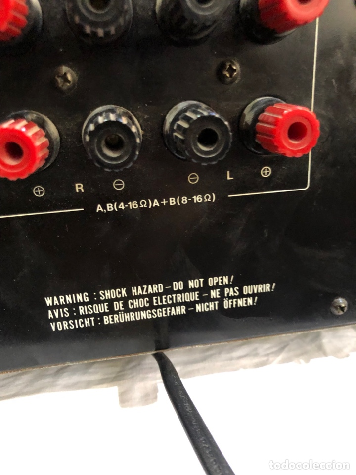 Fonógrafos y grabadoras de válvulas: AMPLIFICADOR INTEGRADO VINTAGE AKAI AM-32 - Foto 14 - 287557408
