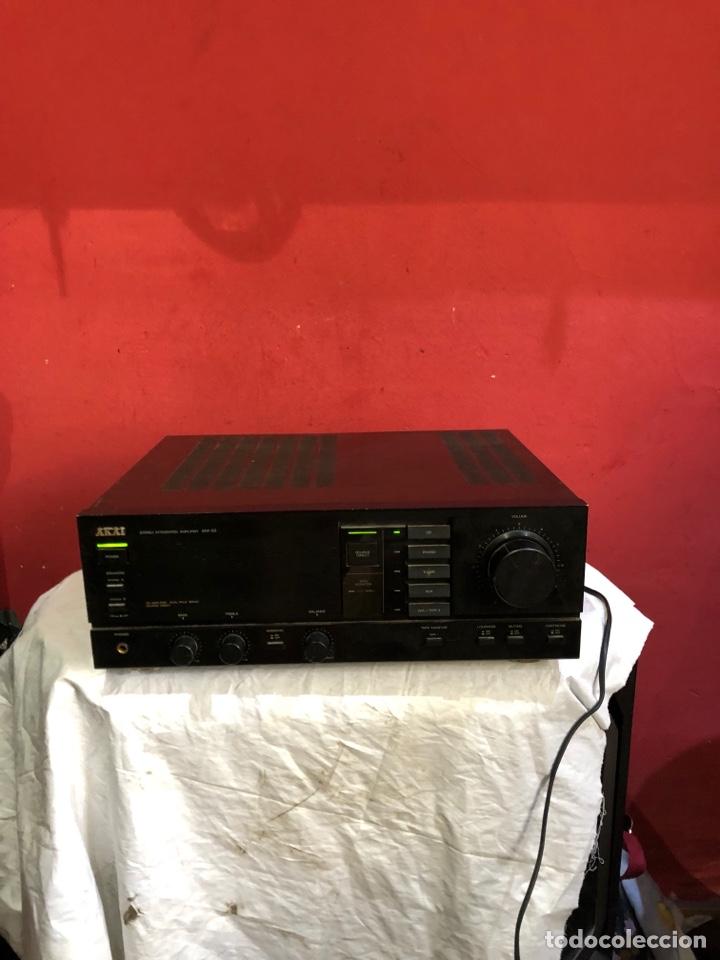 AMPLIFICADOR INTEGRADO VINTAGE AKAI AM-32 (Radios, Gramófonos, Grabadoras y Otros - Fonógrafos y Grabadoras de Válvulas)
