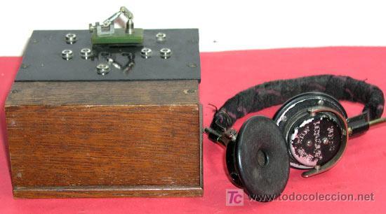 RADIO DE GALENA (Radios, Gramófonos, Grabadoras y Otros - Radios de Galena)