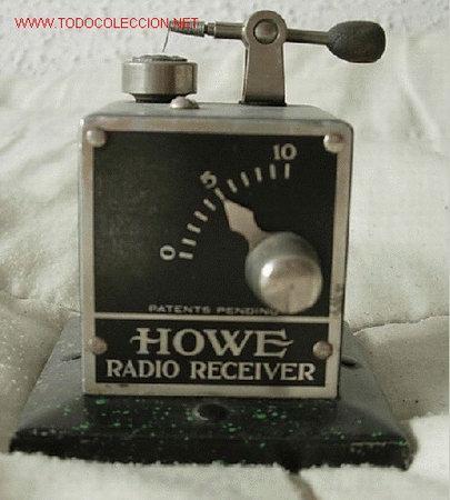 GALENA HOWE (Radios, Gramófonos, Grabadoras y Otros - Radios de Galena)