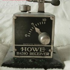 Radios de galena: GALENA HOWE. Lote 26455819