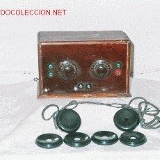 Radios de galena: RADIO GALENA AÑOS 20. Lote 39330637