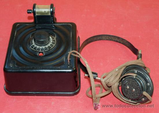 Radios de galena: RADIO GALENA - AS DE CORAZONES - DEL AÑO 1928 - Foto 2 - 11610804