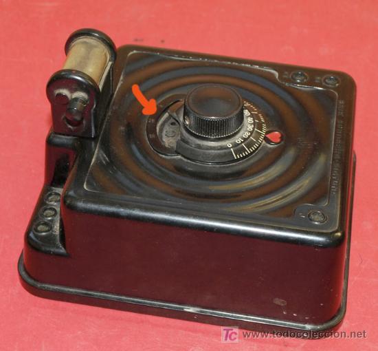Radios de galena: RADIO GALENA - AS DE CORAZONES - DEL AÑO 1928 - Foto 4 - 11610804
