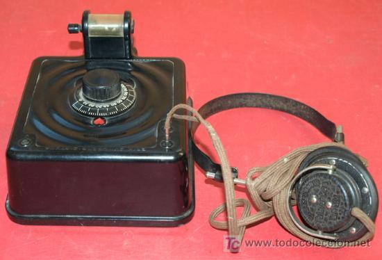Radios de galena: RADIO GALENA - AS DE CORAZONES - DEL AÑO 1928 - Foto 11 - 11610804