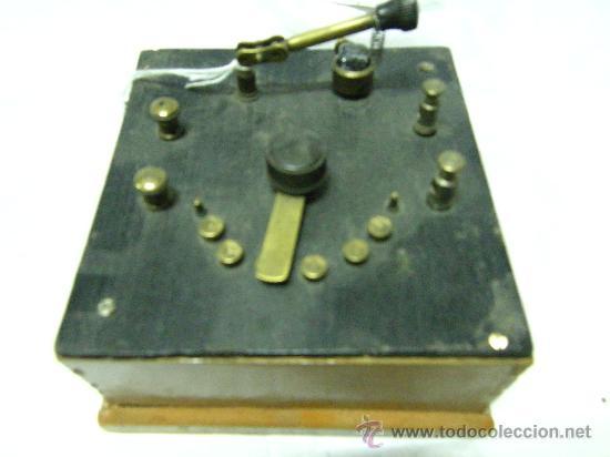 Radios de galena: RADIO GALENA CON AURICULARES - Foto 2 - 26071569