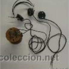 Radios de galena: RADIO DE GALENA DE BOBINA MARCA BRUNETE & CIE CON AURICULARES. Lote 42459389