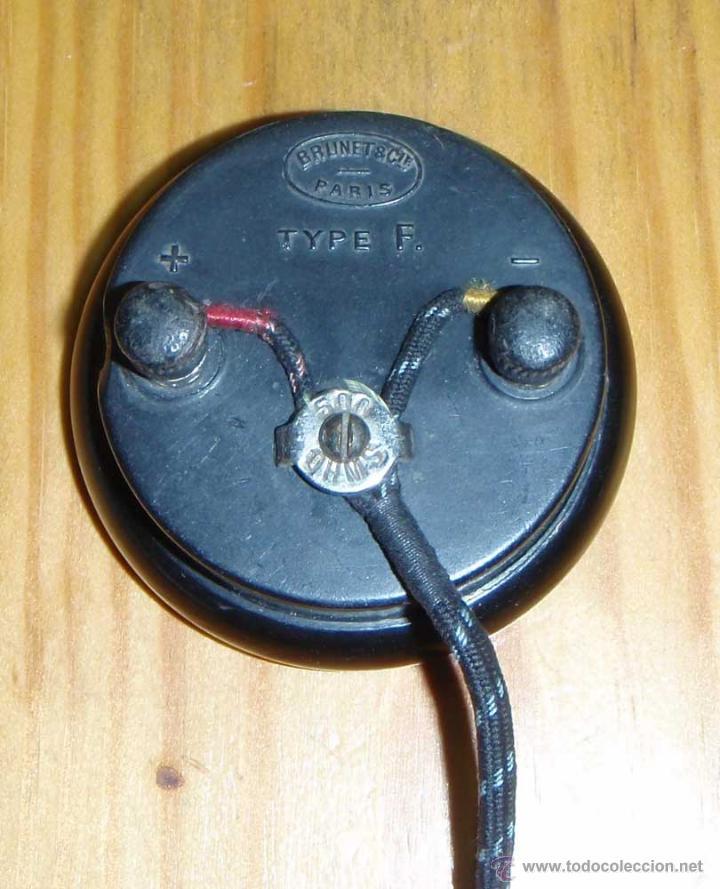 Radios de galena: CASCO - AURICULAR PARA RADIO DE GALENA O SIMILAR - Foto 2 - 46043273