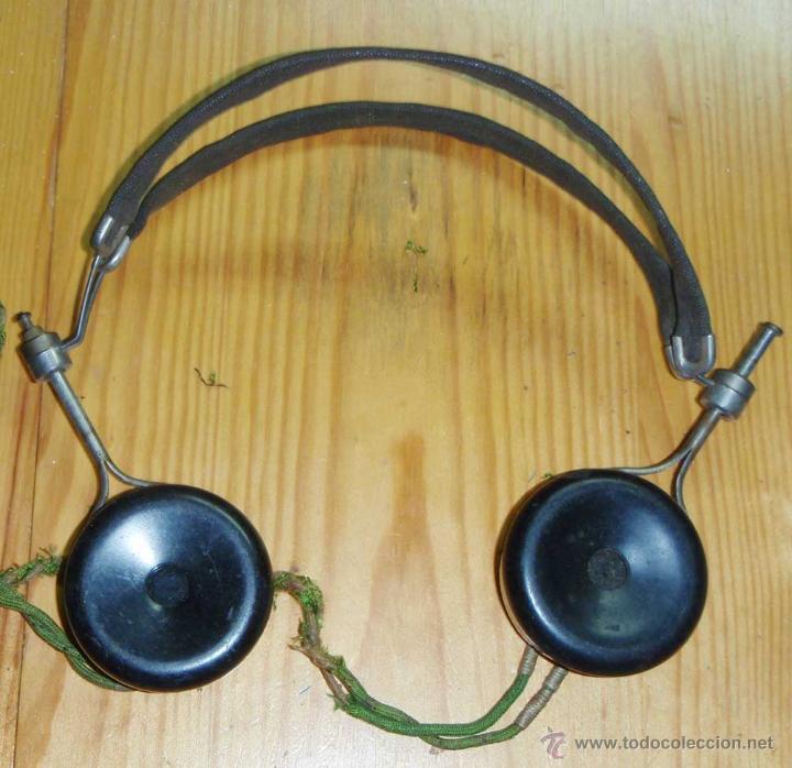 CASCOS - AURICULARES PARA RADIO DE GALENA O SIMILAR (Radios, Gramófonos, Grabadoras y Otros - Radios de Galena)
