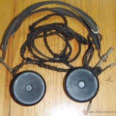 Radios de galena: CASCOS - AURICULARES PARA RADIO DE GALENA O SIMILAR. Lote 46043446