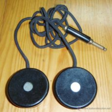 Radios de galena: CASCOS - AURICULARES PARA RADIO DE GALENA O SIMILAR. Lote 46043541