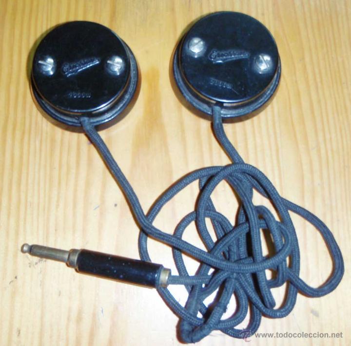 Radios de galena: CASCOS - AURICULARES PARA RADIO DE GALENA O SIMILAR - Foto 2 - 46043541