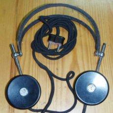 Radios de galena: CASCOS - AURICULARES PARA RADIO DE GALENA O SIMILAR. Lote 46043570