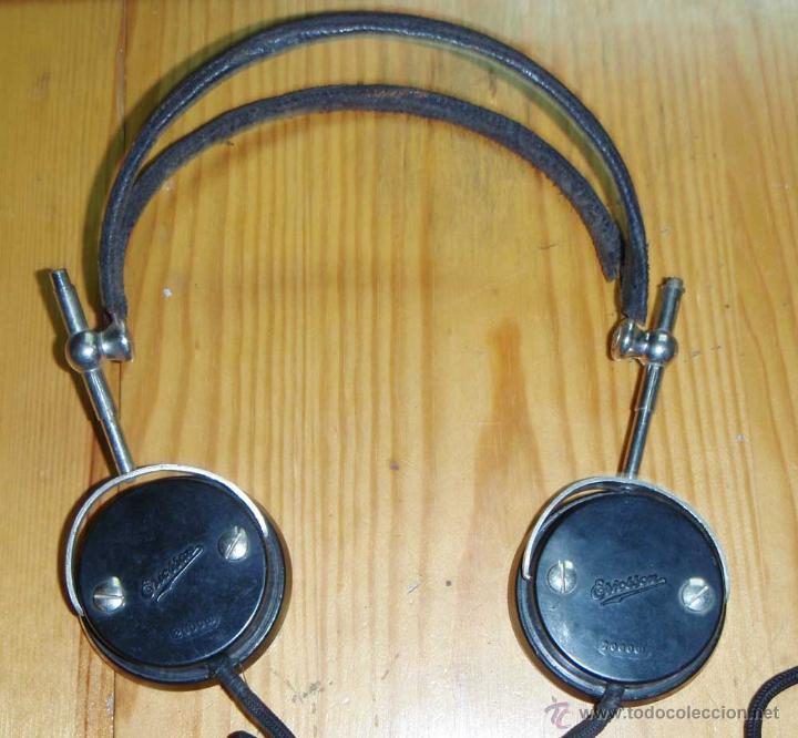 Radios de galena: CASCOS - AURICULARES PARA RADIO DE GALENA O SIMILAR - Foto 3 - 46043570