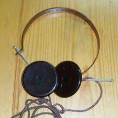 Radios de galena: CASCOS - AURICULARES PARA RADIO DE GALENA O SIMILAR. Lote 46043609