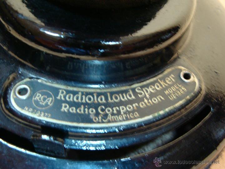 Radios de galena: Altoparlante Radiola UZ 1325 - Foto 11 - 46711901