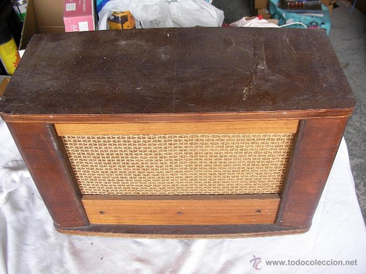 ANTIGUA CAJA DE MADERA PARA RADIO ANTIGUA DE VALVULAS (Radios, Gramófonos, Grabadoras y Otros - Radios de Galena)