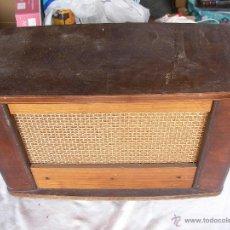 Radios de galena: ANTIGUA CAJA DE MADERA PARA RADIO ANTIGUA DE VALVULAS . Lote 47788057
