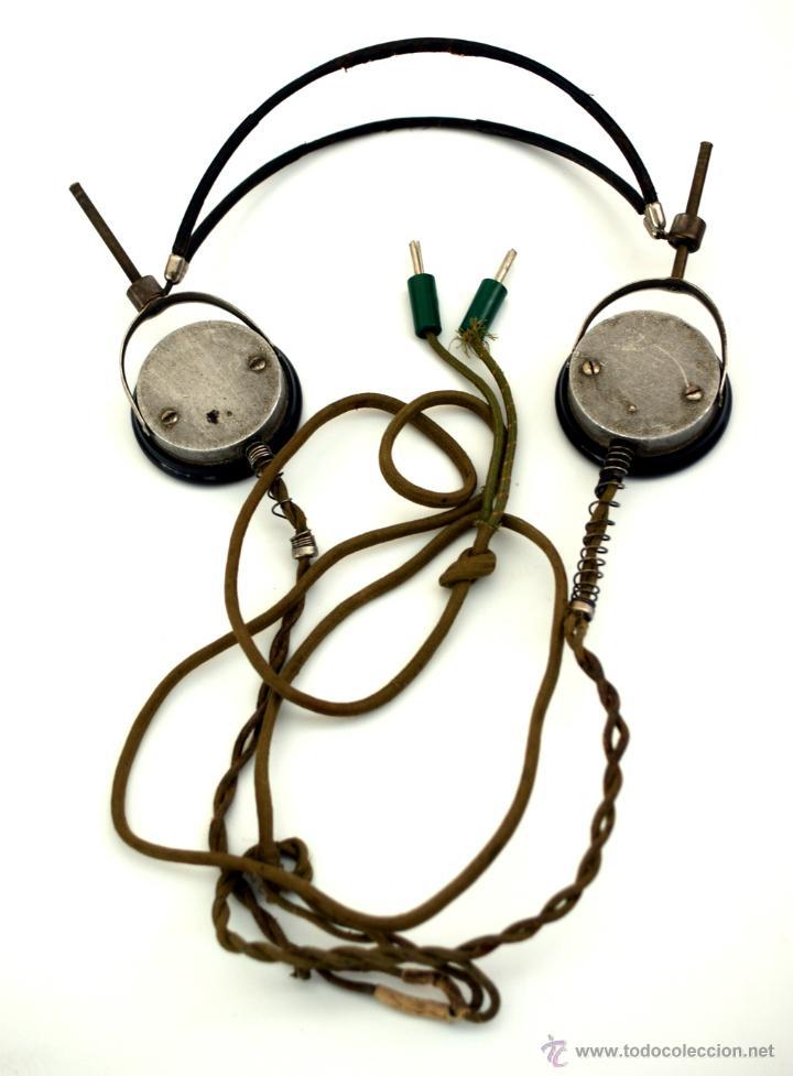 AURICULARES DE BAQUELITA PARA RADIO DE GALENA - AÑOS 20 - 30 (Radios, Gramófonos, Grabadoras y Otros - Radios de Galena)