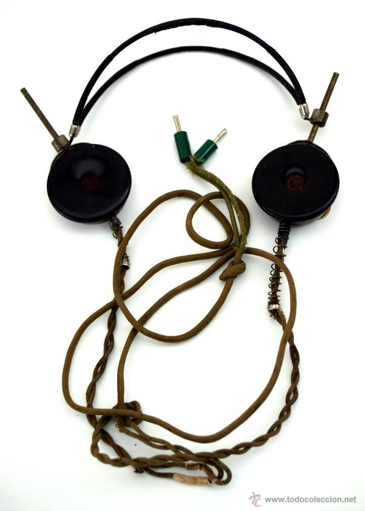 Radios de galena: AURICULARES DE BAQUELITA PARA RADIO DE GALENA - AÑOS 20 - 30 - Foto 2 - 178673160