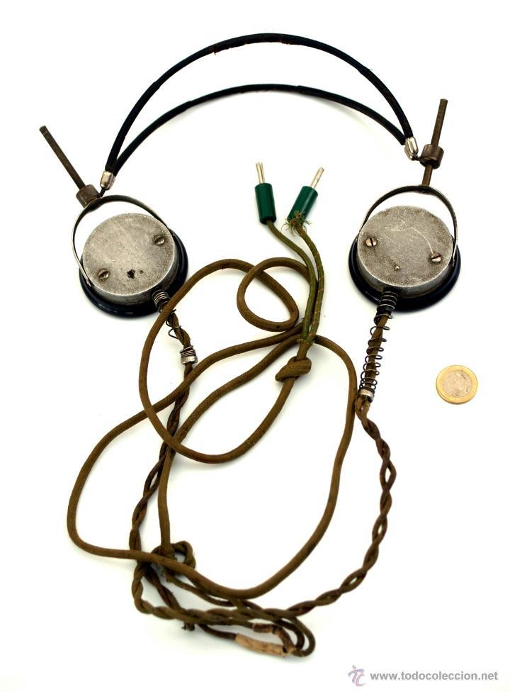 Radios de galena: AURICULARES DE BAQUELITA PARA RADIO DE GALENA - AÑOS 20 - 30 - Foto 4 - 178673160