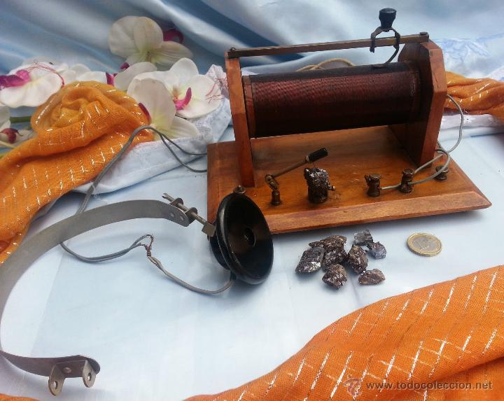 Radios de galena: ANTIGUA Y ESPECTACULAR RADIO GALENA - Foto 2 - 49599313