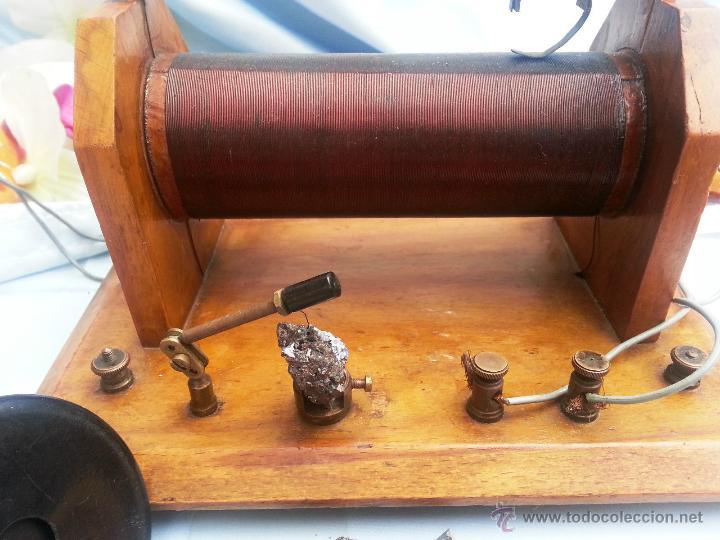 Radios de galena: ANTIGUA Y ESPECTACULAR RADIO GALENA - Foto 3 - 49599313