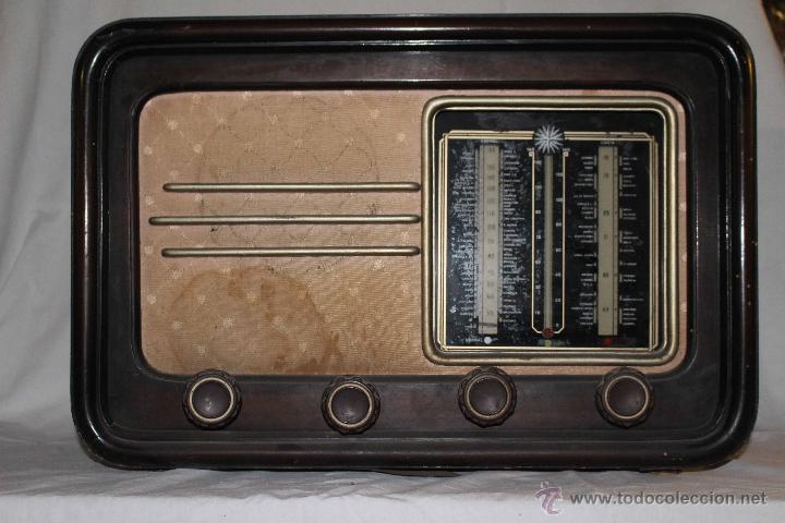 RADIO ANTIGUA (Radios, Gramófonos, Grabadoras y Otros - Radios de Galena)