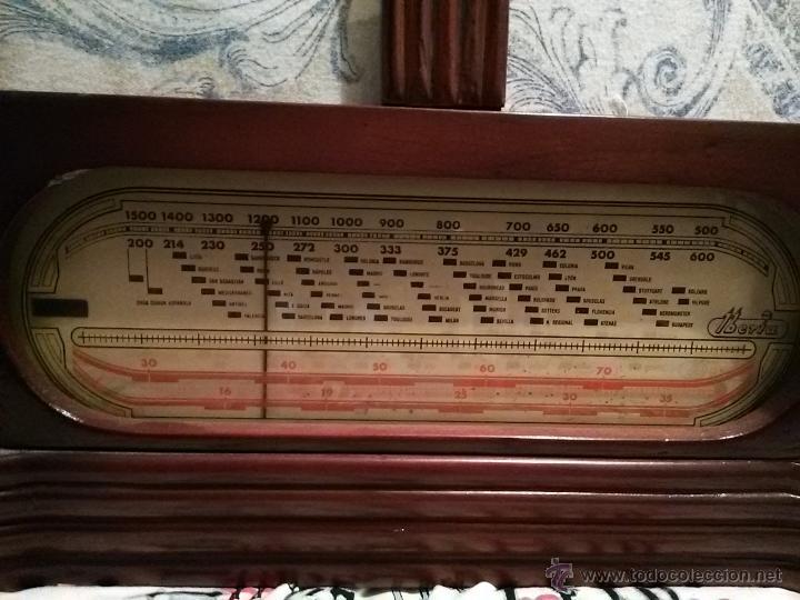 Radios de galena: ANTIGUA RADIO DE VALVULAS IBERIA - Foto 2 - 53315905