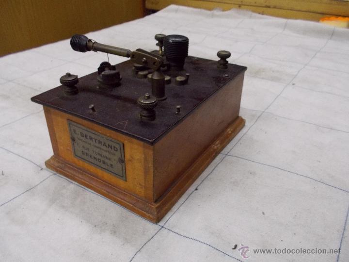 RADIO GALENA E. BERTRAND (Radios, Gramófonos, Grabadoras y Otros - Radios de Galena)