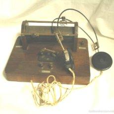 Radios de galena: RADIO GALENA AÑOS 20, MUEBLE MADERA DE CAOBA. MED. 23,50 X 17 X 10 CM. Lote 50309052