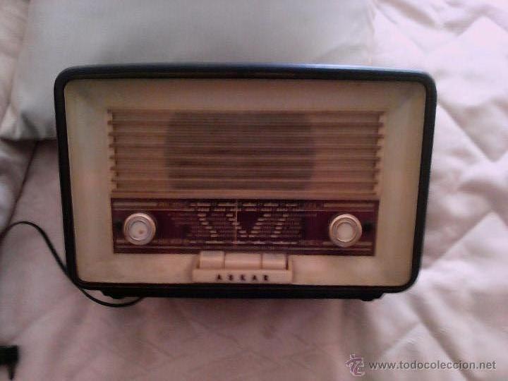 RADIO ASKAR (Radios, Gramófonos, Grabadoras y Otros - Radios de Galena)