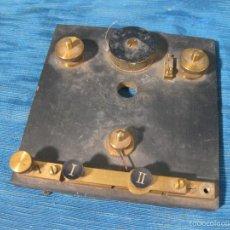 Radios de galena: RESTOS DE UN APARATO DE RADIO. SIN MARCA.. Lote 58382039