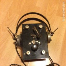 Radios de galena: RADIO GALENA COMPLETA CON AURICULARES.RADIOSON CONSEJO DE CIENTO BARCELONA. Lote 69648377